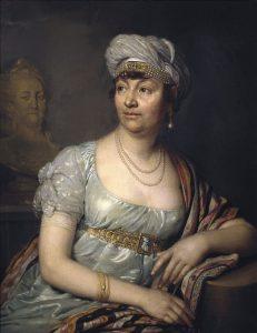 Madame de Staël 1812 © Wikimedia.Commons (allgemeinfrei)
