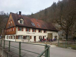 Gasthaus zum Lamm im Kleinen Lautertal © Susanne Wosnitzka