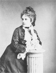 ophie Menter, Fotografie von Josef Löwy 1875. © Wikimedia.Commons (allgemeinfrei)