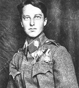 Viktoria Saws (1899-1979) als Soldat © Wikimedia.Commons (allgemeifrei)