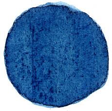 Indigo © Wikimedia.Commons (allgemeinfrei) Hilde Firtels blaues Kleid