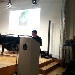 """Vortrag zu Vilma von Webenau im Münchner Stadtmuseum 2014 im Rahmen der Ausstellung """"Ab nach München! Künstlerinnen um 1900"""" © Susanne Wosnitzka"""
