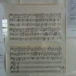 Originalnoten von Annette von Droste-Hülshoff (Fürstenhäusle Meersburg) © Susanne Wosnitzka