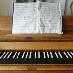 Klavier von Annette von Droste-Hülshoff (Fürstenhäusle Meersburg) © Susanne Wosnitzka