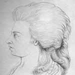 Maria Theresia Paradis. Zeichnung von F. Parmantié, 1784. © Wikimedia.Commons (allgemeinfrei)