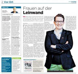 """Interview mit mir von Heike Viefhaus (SWP) über """"Komponistinnen"""" © swp.de (mit freundlicher Genehmigung)"""