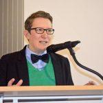 Vortrag in München über lesbische Geschichte. Forum Homosexualität e. V./rosa Alter e. V. © Bernd Müller