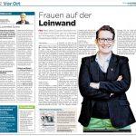 """Zeitungsartikel/Interview zur """"Komponistinnen""""-Doku © Susanne Wosnitzka"""