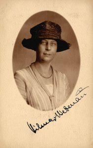 Vilma von Webenau (1875-1953), Komponistin, im Jahr 1924 © Wikimedia.Commons (gemeinfrei)