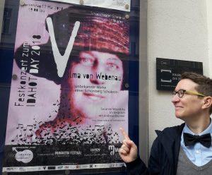 Konzertplakat in Wien © Susanne Wosnitzka