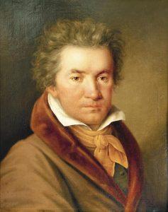 Ludwig van Beethoven. Gemälde von Willibrord Joseph Mähler, 1815 © Wikimedia.Commons (gemeinfrei)