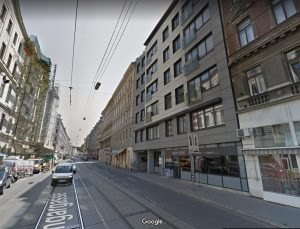 Ungargasse 46, modernes Gebäude rechts © Google.Maps 2019