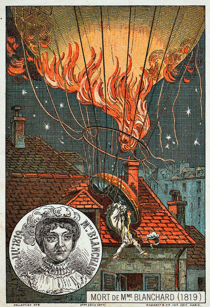 Tod von Madame Blanchard © Wikimedia.Commons (gemeinfrei)