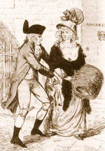 Rhynwick Williams und sein Opfer, 1790 © Wikimedia.Commons (gemeinfrei)