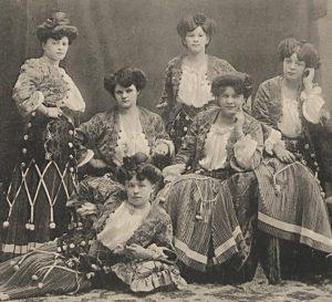 Damenblaskapelle um 1900 © Archiv Frau und Musik (gemeinfrei)