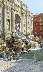 Antonietta Brandeis. Trevi-Brunnen, um 1890 © gemeinfrei