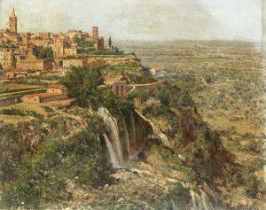 Antonietta Brandeis. Tivoli bei Rom, um 1890 © gemeinfrei