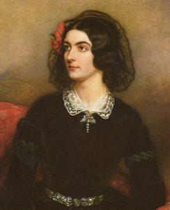 Lola Montez. Ölgemälde von Joseph Karl Stieler 1847 © Wikimedia.Commons (gemeinfrei)
