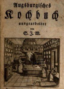 Titelblatt Kochbuch Sophie Juliane Weiler 1788 © gemeinfrei