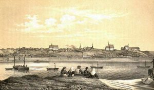 Chełmno/Kulm um 1855 © wikimedia.commons (gemeinfrei)