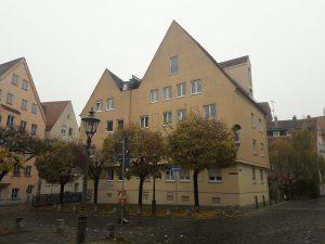 Ehem. Wohnhaus der Fam. Friedrich List, Vorderer Lech 19/19a © Susanne Wosnitzka