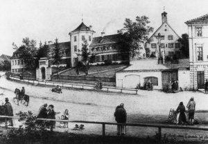 Armenhaus Haidhausen. Heute Kulturzentrum Gasteig © wikimedia.commons (gemeinfrei)