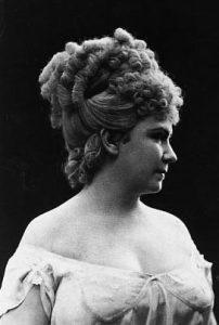 Marie Geistinger als Galathée © wikimedia.commons (gemeinfrei)