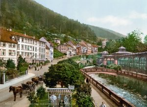 Bad Wildbad um 1900 © wikimedia.commons (gemeinfrei)