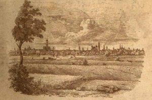 """Grafik aus """"Augsburg, wie es ist"""" (1846, gemeinfrei)"""
