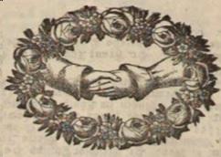 Sich reichende Hände. Fund aus dem Augsburger Tagblatt (gemeinfrei)