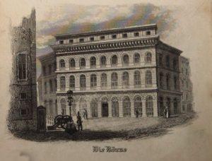 Rathausplatz Augsburg 1846 © gemeinfrei