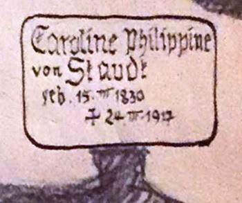Caroline von Staudt – Augsburger Claviervirtuosin mit seltener Bravour